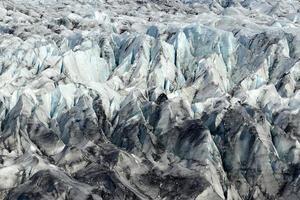 Gletscher auf der Insel foto