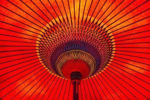 japanischer roter Regenschirm / Janome