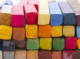 bunte künstlerische Pastelle