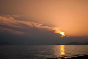 Japanisches Meer foto