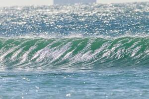 Ozeanwellen Wasser foto