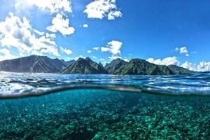 Tahiti halb und halb foto
