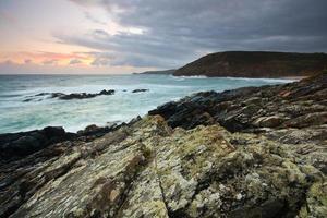 Seelandschaft, Cornwall, Großbritannien.