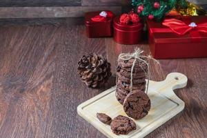 Kekse und Geschenkboxen