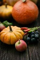 Herbstgedeck foto