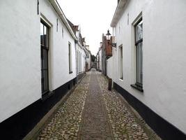 weiße Häuser foto