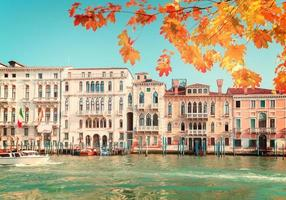 traditionelles Venedighaus, Italien foto