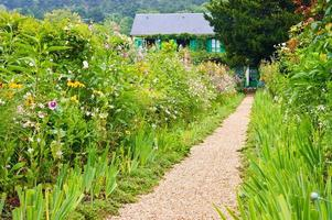Geld Garten und Haus, Giverny foto