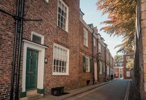 Straße in York foto