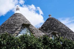 Trulli-Dächer, Apulien foto