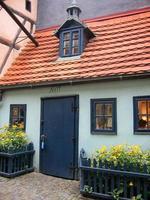 kleines Haus in der goldenen Gasse Prag foto