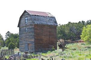 verlassene Scheune, südliches Utah foto