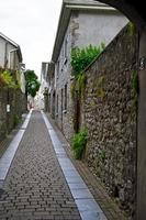 einsame Straße in Kilkenny foto