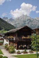 altes haus in werfenweng, österreich