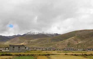 tibetisches Dorf foto