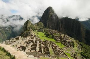 Vista Ciudad Inca de Machu Picchu