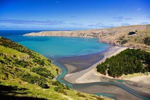 Okains Bay Neuseeland foto