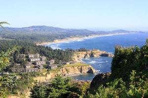 Pazifikküste in Oregon foto