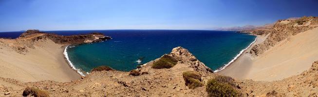 Agios Pavlos Strand, Kreta foto