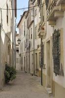 schmale Straße in Coimbra