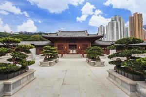 Chi Lin Nonnenkloster in Hongkong