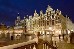 belgien, brüssel, grote markt foto