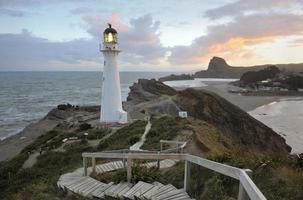 neuseeland leuchtturm foto
