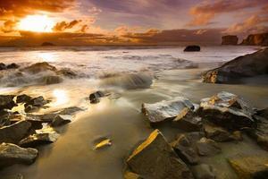 muriwai beach auckland, neuseeland foto