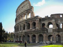 Italien. Rom. das alte kollosseo foto