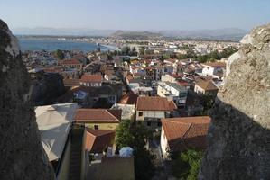 Stadt von Nafplio foto