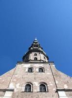 Kirche von st. Peter. Riga, Lettland