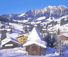 Inneralpbach, Alpbachtal, Tirol, Alpen, Österreich foto