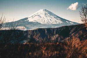 Mount Fuji im Herbst foto