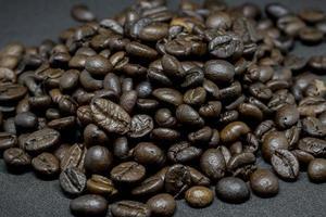 Nahaufnahme von Kaffeebohnen