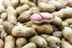 Nahaufnahme von Erdnüssen