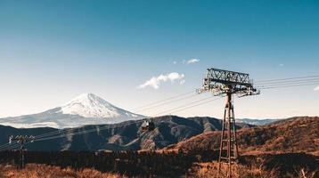 schöner Fuji Berg foto