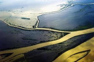 Luftaufnahme des Ostens in China foto