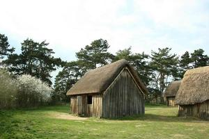 West stow angelsächsisches Dorf foto
