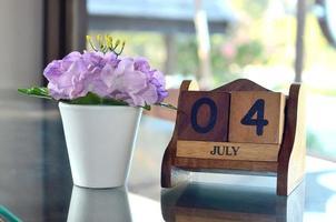 Fröhlichen 4. Juli foto