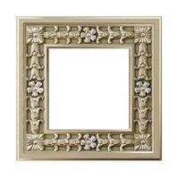 dekorativer Goldrahmen