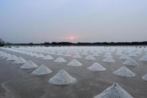 Salzfarmen in Thailand