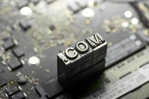 Internet www. Website-Design & .com-Symbol foto