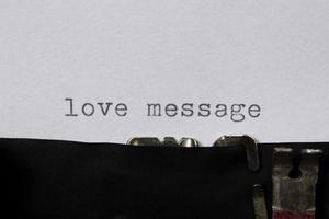 Liebesnachricht