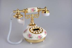 nostalgisches Telefon foto