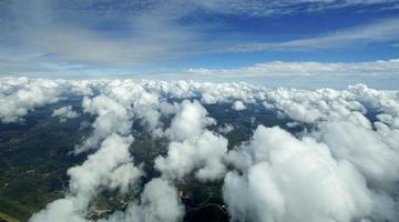Luftwolkenlandschaft.