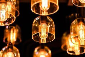 Beleuchtung dekorativ. foto