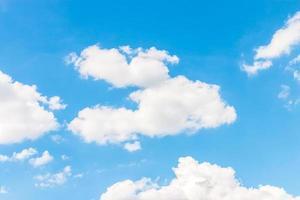 bule Himmel Hintergrund foto