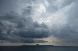 regnerischer Himmel