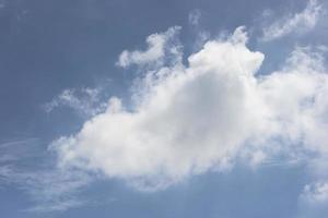 abstrakter bewölkter Himmelhintergrund foto