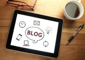 Blog Webdesign foto